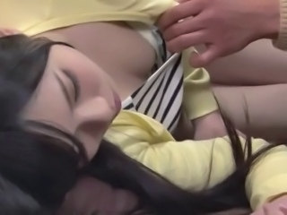 Asian Babe Cute Japanese Sleeping
