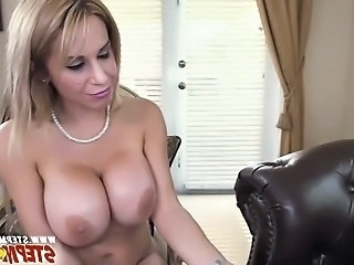 Amazing Big Tits  Mom Pornstar
