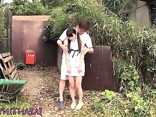 Asian Japanese Outdoor Teen Boobs