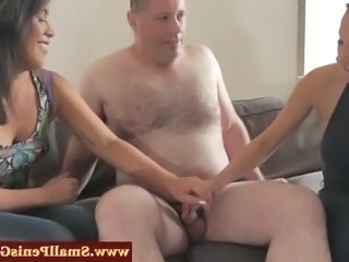 Daddy Handjob Small cock