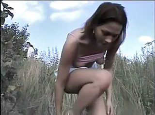 Farm Outdoor Skinny Teen