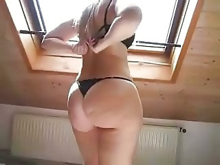 Amateur Ass Chubby Homemade Lingerie