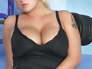 Big Tits  Natural Sport Tattoo