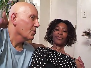 Daddy Ebony Interracial Old and Young French