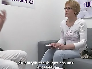 Amateur Doctor European Mature Czech