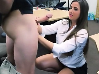 Amateur  Blowjob Clothed   Office