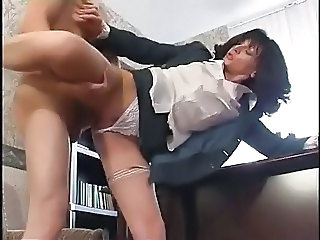 Clothed Hardcore  Office Secretary