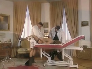 Doctor Stockings Threesome MMF