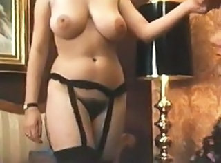 Amazing Big Tits Hairy Lesbian  Natural Vintage