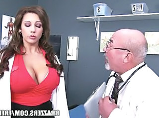 Amazing Big Tits Daddy Doctor  Old and Young Pornstar
