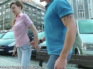 Amateur Cute Outdoor Public Russian Teen Innocent