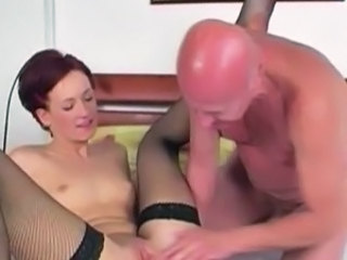 Daddy Daughter Old and Young Small Tits Stockings Teen Grandpa Dirty