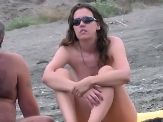 Beach Nudist Outdoor Teen Voyeur Spy