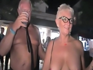 Amateur Mature Older Party Public Wife