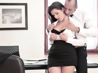 Babe Cute Office Secretary Skirt Boss Italian