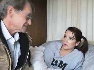 Daddy Daughter Old and Young Teen Huge