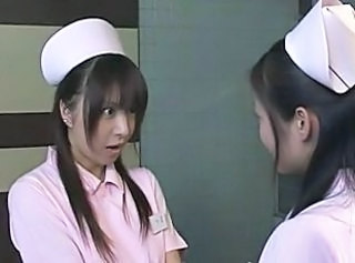 Asian Japanese Lesbian  Nurse Uniform