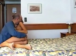 Amateur Casting Daddy Old and Young Teen Hotel