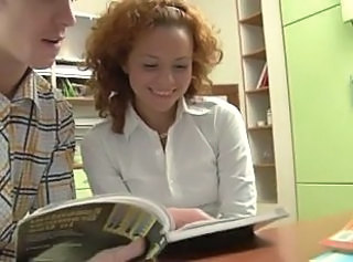 Redhead Sister Student Teen