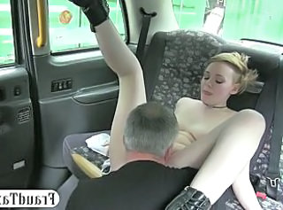Amateur Car Daddy Licking Old and Young Teen