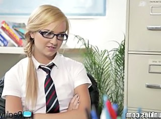 Glasses School Student Teen Uniform