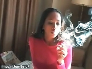 Amateur Ebony Fetish Smoking