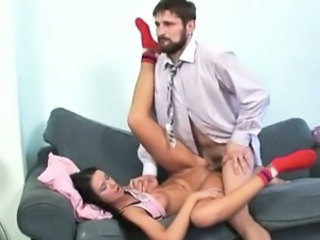 Daddy Hardcore Old and Young Student Teacher Teen
