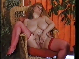 Big Tits Mature Natural Pornstar Pussy  Solo Stockings Vintage