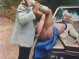 Car Clothed  Outdoor Pornstar Stockings Vintage