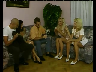 Amazing Drunk European German Groupsex  Swingers Vintage German