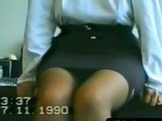 Amateur Homemade  Skirt Vintage Wife
