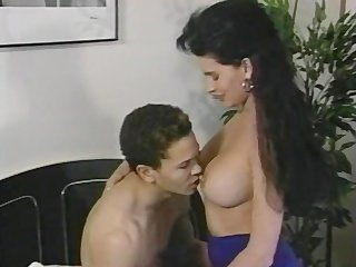 Brunette   Mom Old and Young Pornstar Vintage