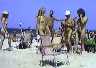 Amateur Beach Nudist Outdoor Vintage