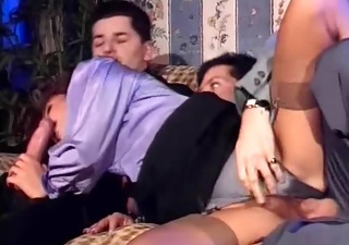 Blowjob Clothed European Hairy Hardcore Italian  Stockings Threesome Vintage Italian