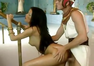 Amazing Brunette Cute Doggystyle Fantasy  Pornstar Vintage Egyptian