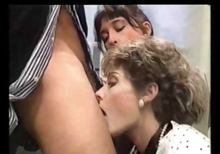 Blowjob European French  Pornstar Threesome Vintage French