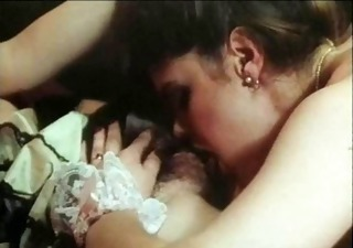 Hairy Lesbian Licking Maid Vintage