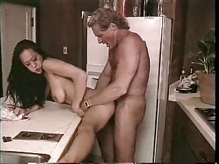 Asian Doggystyle Hardcore Interracial Kitchen  Vintage