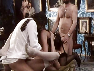 European French Groupsex Hardcore Lingerie  Pornstar Stockings Vintage French