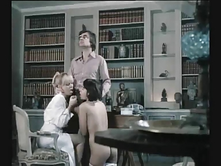 Blowjob European French  Threesome Vintage German French