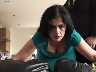 Amazing Brunette Doggystyle Mature Mom Mother