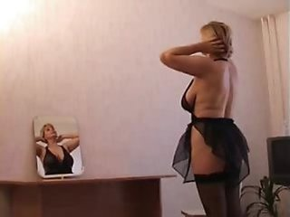 Amateur Big Tits Lingerie Mature Mom Son