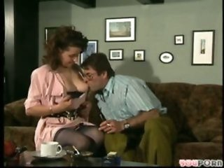 European German Licking  Older Stockings Vintage Wife German