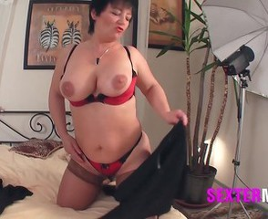Big Tits Casting Chubby Lingerie Mature Natural Stripper