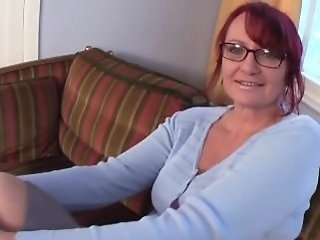 Glasses Mature Redhead Amateur