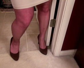 Legs Mature Stockings Mother Vagina