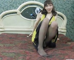 Amateur Mature Russian Skinny Stockings