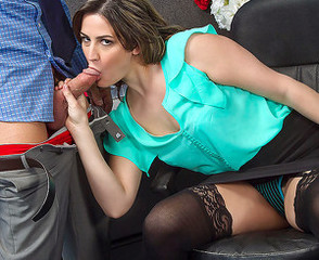 Amazing Blowjob Clothed  Office Pornstar Secretary