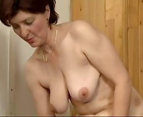 Mature Mom Old and Young  Gym