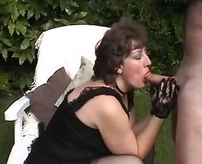 Amateur Blowjob Mature Outdoor Outdoor Lingerie